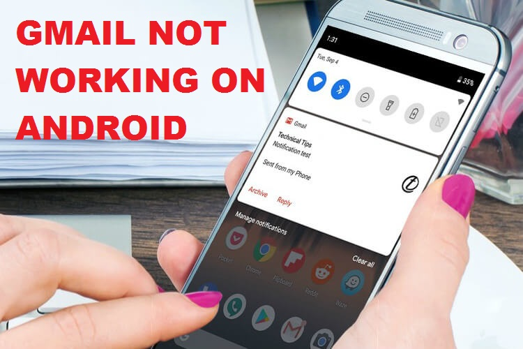 Gmail Not Working On Android