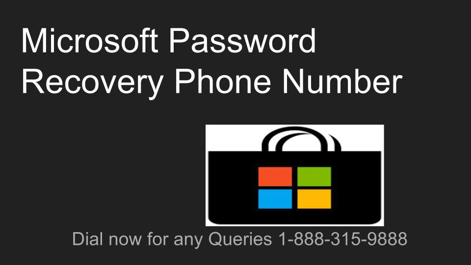 How to Recover Microsoft Password?